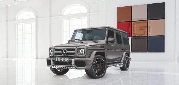 G 63 and G 65 AMG Exclusive Edition even more special …