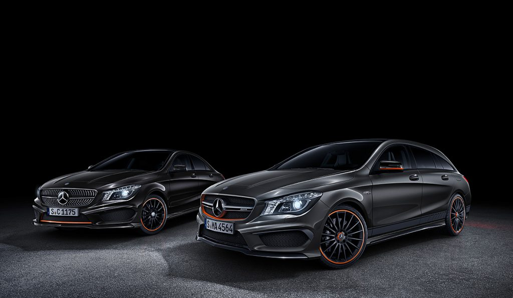 CLA 45 AMG Orange Edition