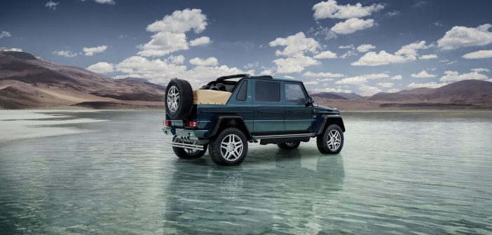 Official: AMG powered Mercedes-Maybach G 650 4×4² Landaulet