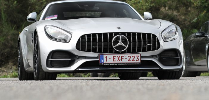 AMG's at the Formula 1 Belgian Grand Prix