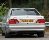 Spotted: Mercedes-Benz E 55 AMG W210