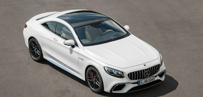 Mercedes-AMG S Coupé and S Convertible facelift including S 63 AMG Yellow Night Edition