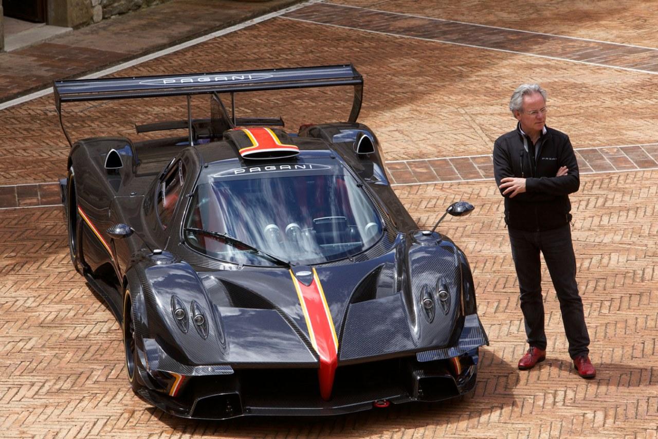 Pagani Automobili - AMG In Years