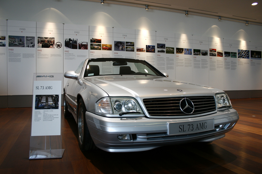 Mercedes Benz Sl Amg Amg In Years