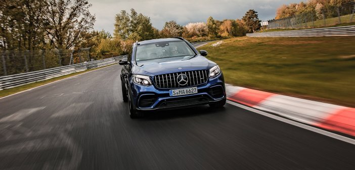 GLC 63 S AMG is fastest SUV around the Nürburgring