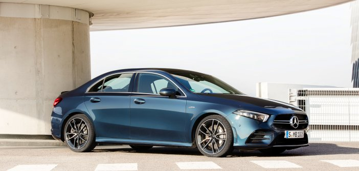 New A 35 now also available as Sedan