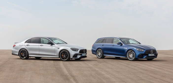 Updated E-Class unveiled as E 63 AMG