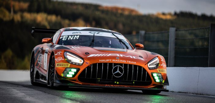 Mercedes-AMG could not cash its pole at 24 hours of Spa