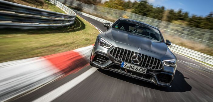 New Nurburgring lap record for the Mercedes-AMG GT 63 S