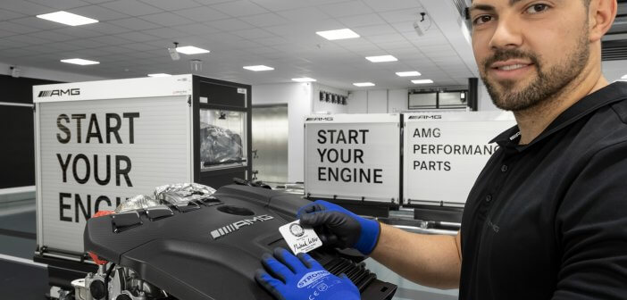 AMG engine factory is 'Factory of the year'