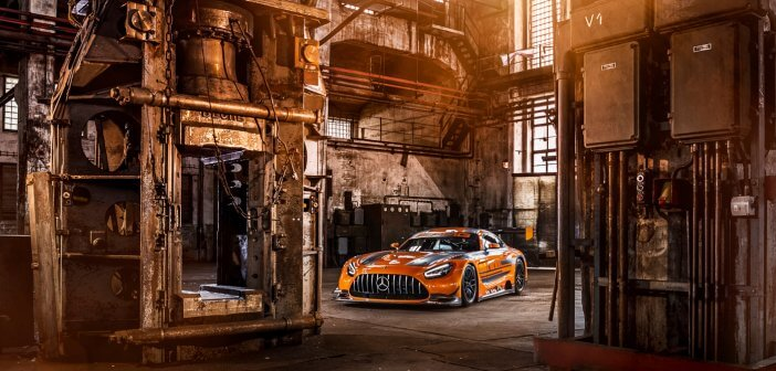 The 6,2 litre V8 is still alive in the AMG GT3