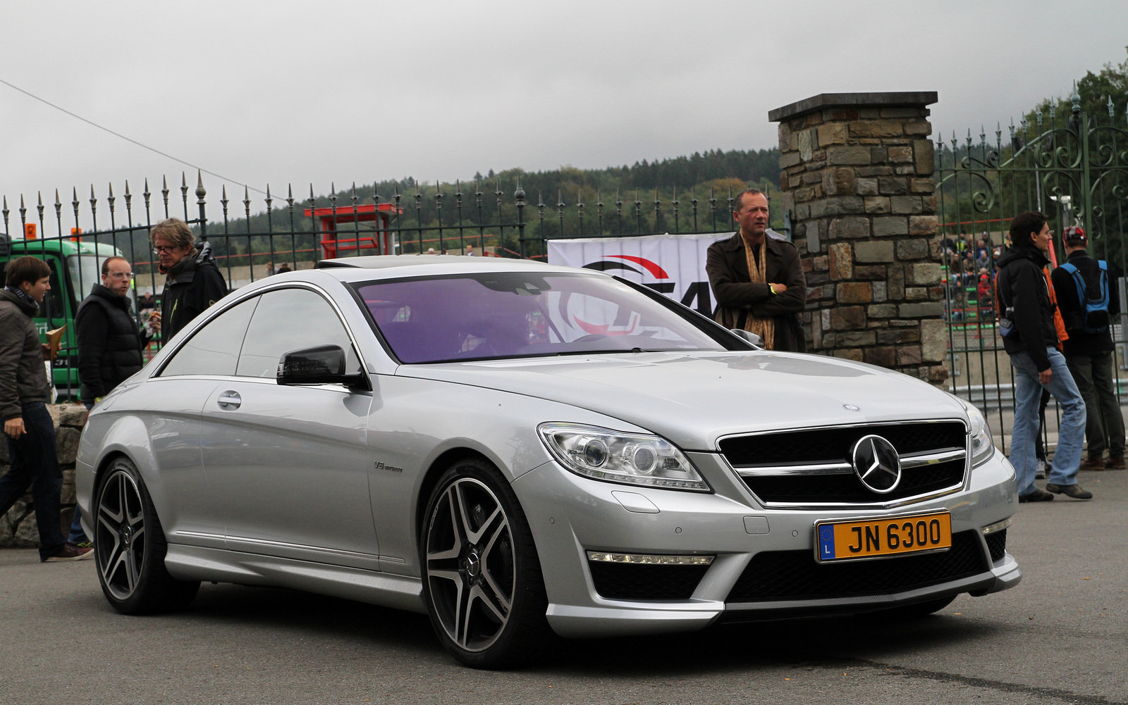 mercedes benz cl s coup amg history amg in years. Black Bedroom Furniture Sets. Home Design Ideas