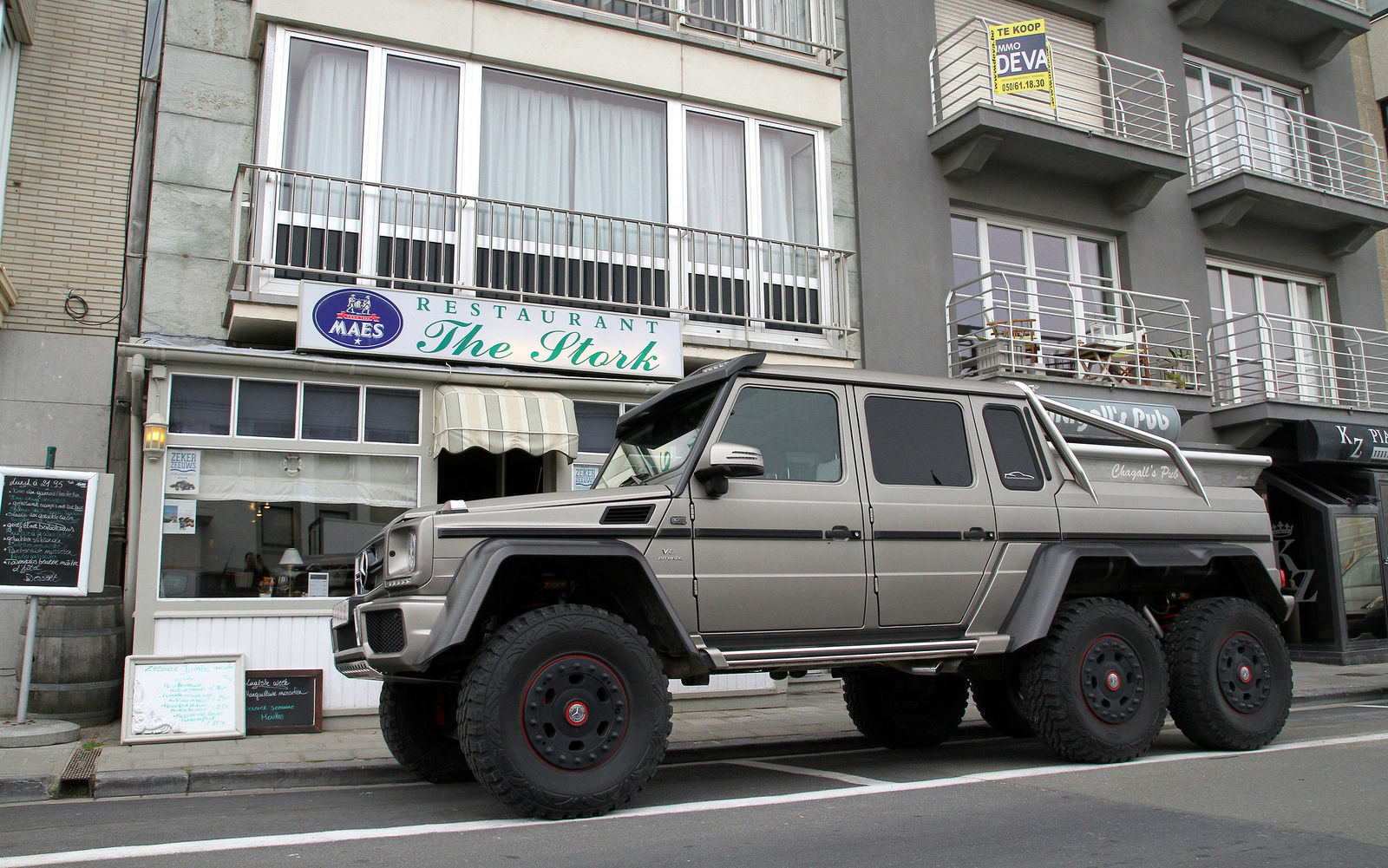 Mercedes Amg To Introduce G 65 Amg 4x4 178 Convertible At