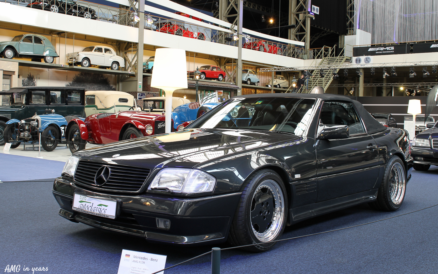 sl 500 amg r129 amg in years. Black Bedroom Furniture Sets. Home Design Ideas