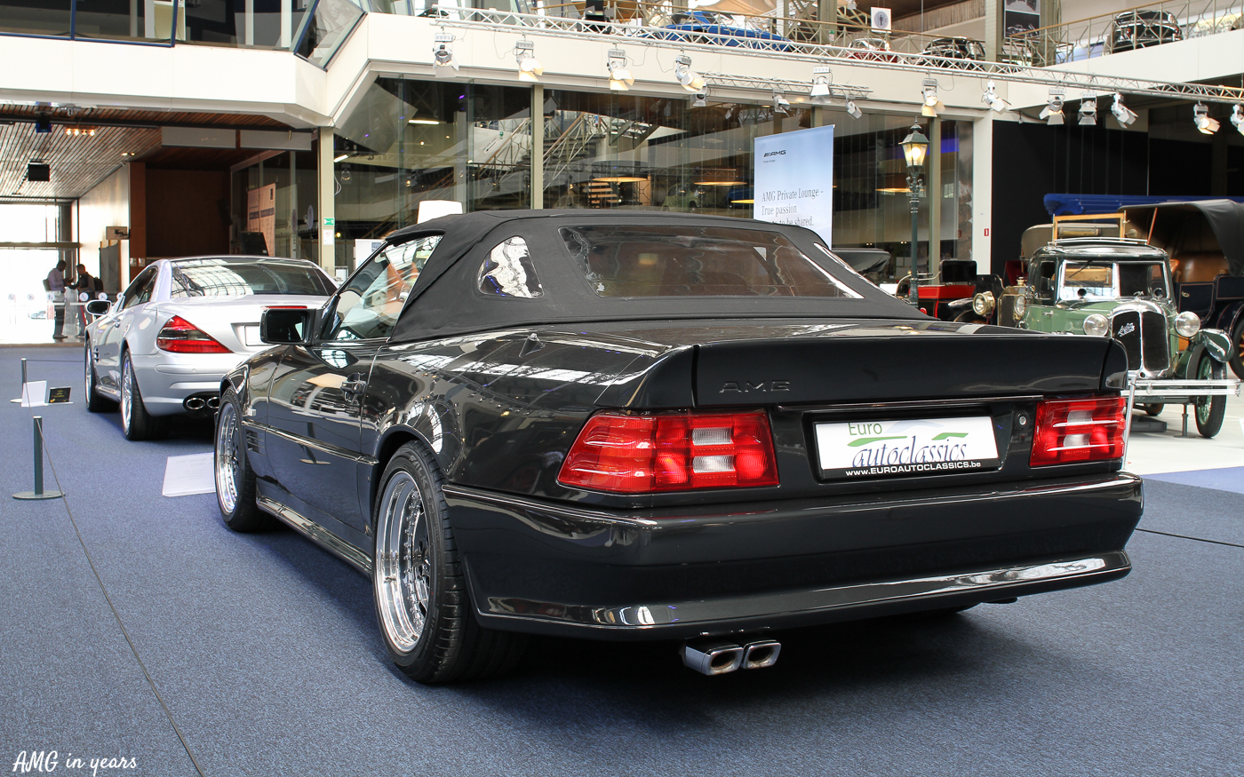 50 years amg at autoworld amg in years. Black Bedroom Furniture Sets. Home Design Ideas