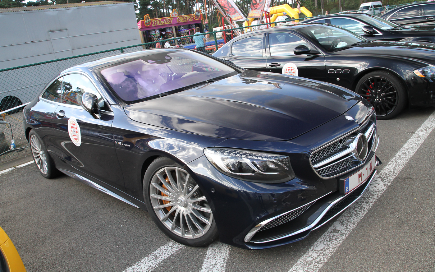 Mercedes Benz Cl S Coup Amg History In Years 65 C217