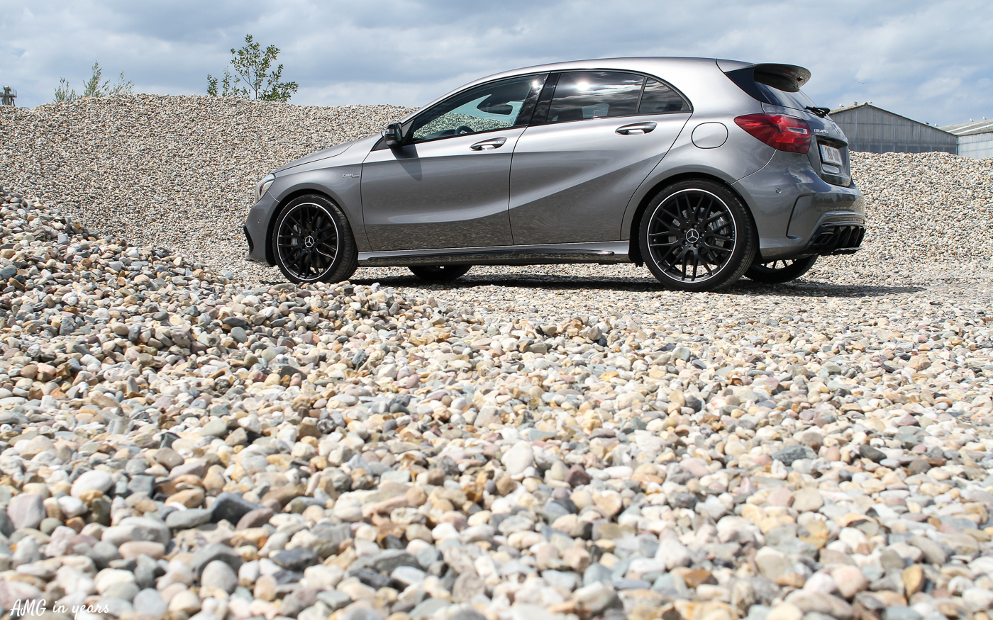 Test Drive - Mercedes-Benz A 45 AMG 4MATIC W176 - AMG In Years