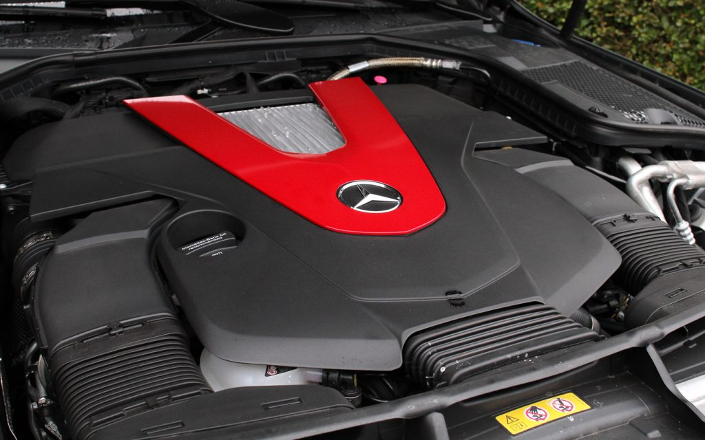 Engine cover C 43 AMG