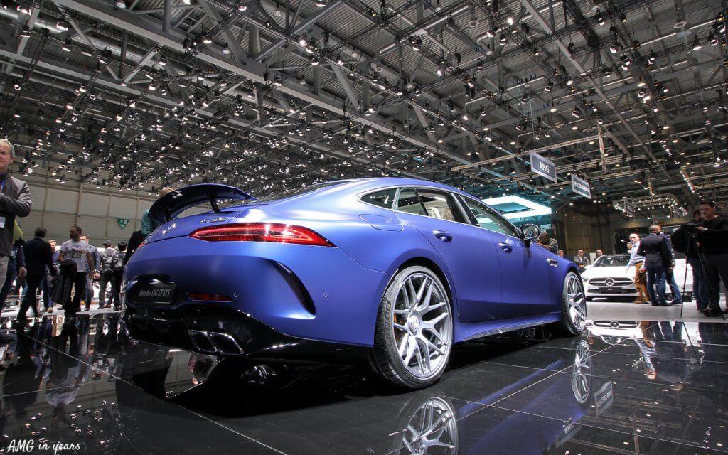 AMG GT 4 door coupé