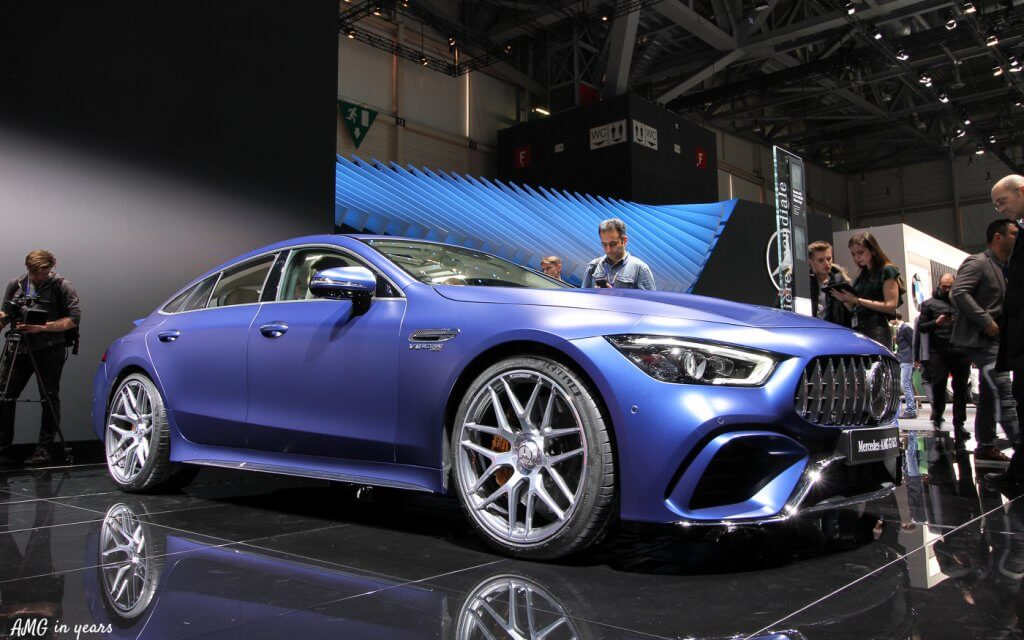AMG GT 4 door coupé
