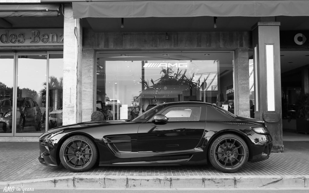 SLS AMG Black Series