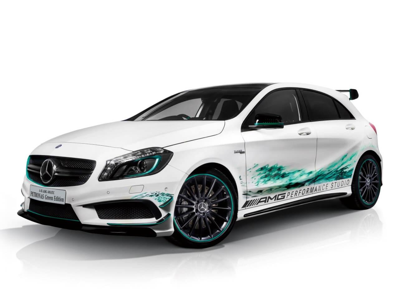 A 45 AMG Petronas Green Edition