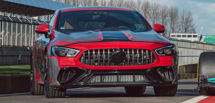 Preview Mercedes-AMG GT 73 E Performance