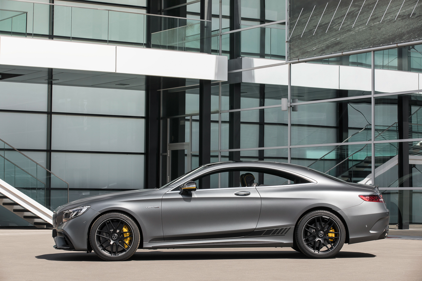 Mercedes Amg S 63 4matic Coupé Yellow Night Edition