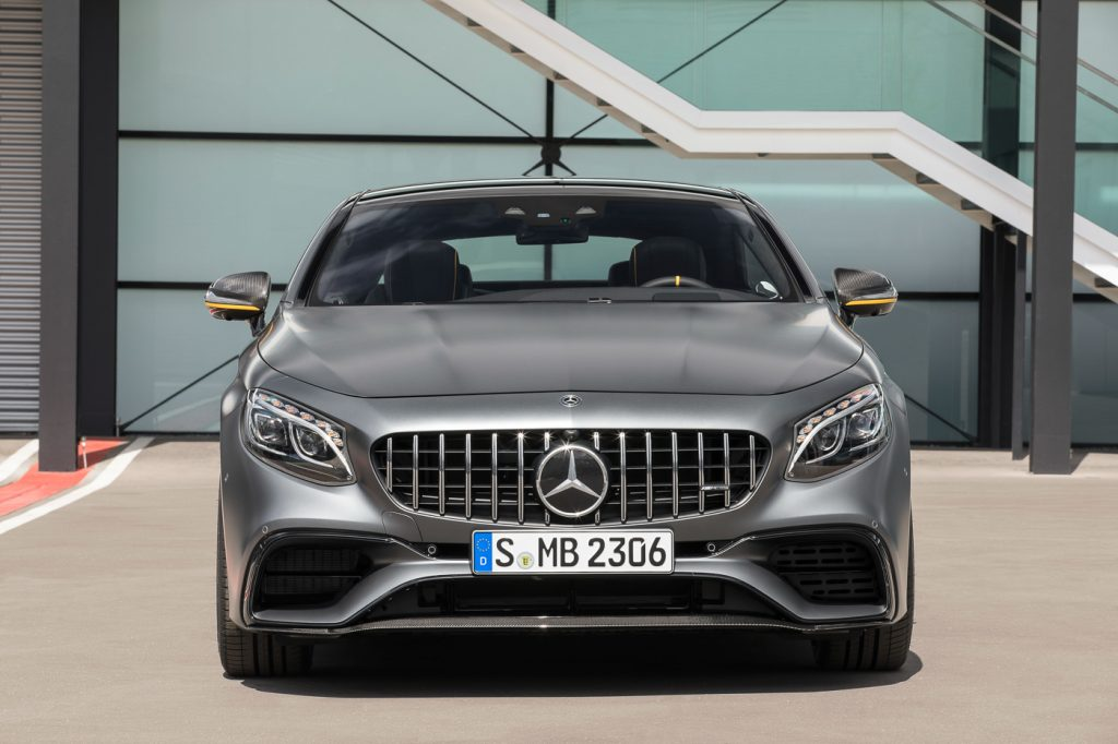 Mercedes-AMG S 63 4MATIC+ Coupé Yellow Night Edition