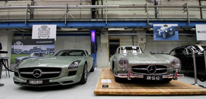 Legendary green duo: 300 SL and SLS AMG