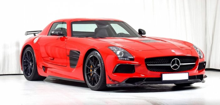 2 times SLS Black Series at auction